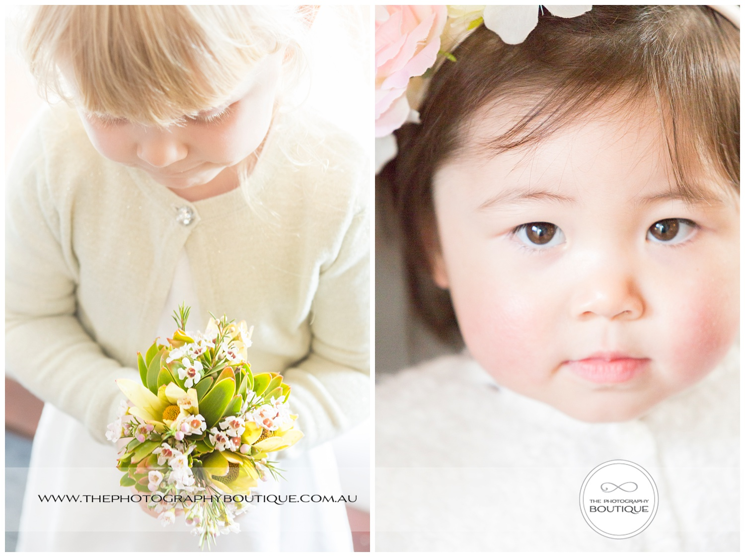 Gorgeous flower girls