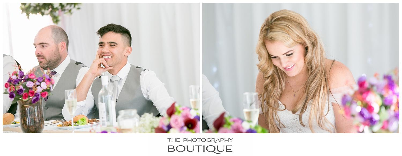 bride and groom laughing at Roelands Bunbury wedding