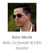•Tell everyone about what you're interested in. Dave really likes drones, so he often tweets about them—and gets many inbound offers about investing in drone companies.  Tweet this