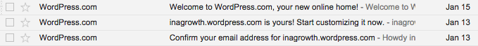 *  WordPress