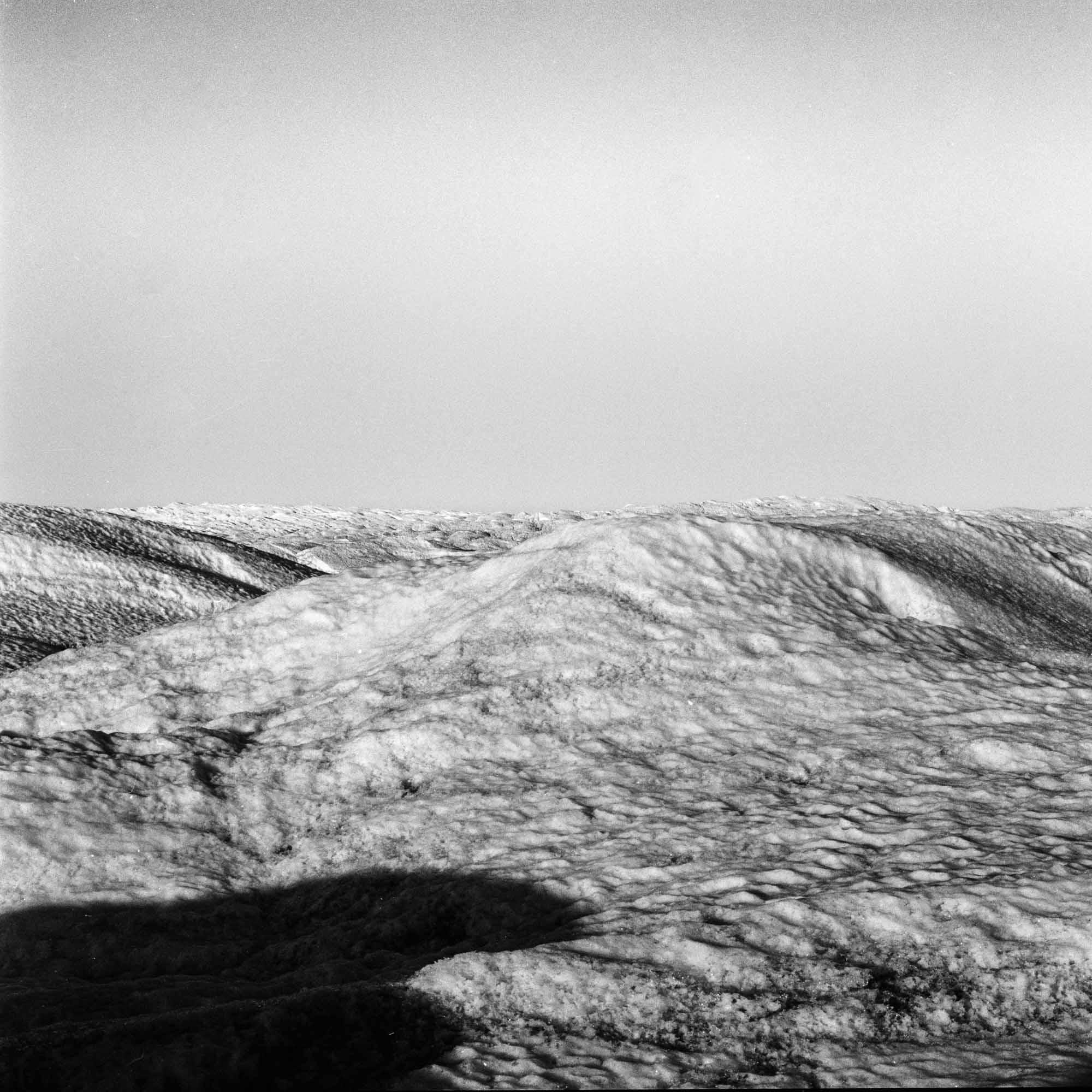 SERMERSUAQ  A photographic study of Sermersuaq, Greenland's ice sheet.  Greenland, 2014