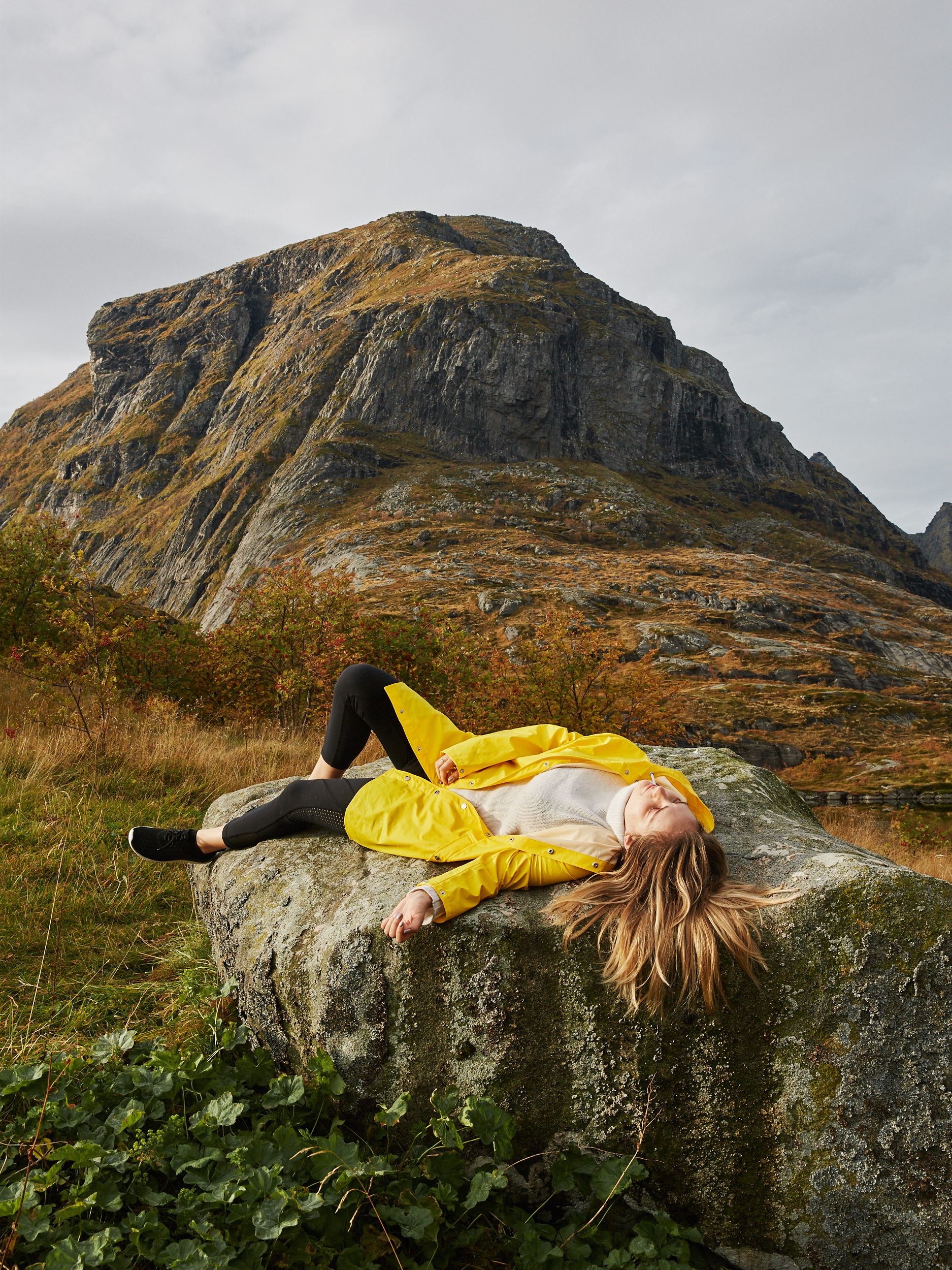 RAINS  Talia Carlisle Lofoten Islands Norway