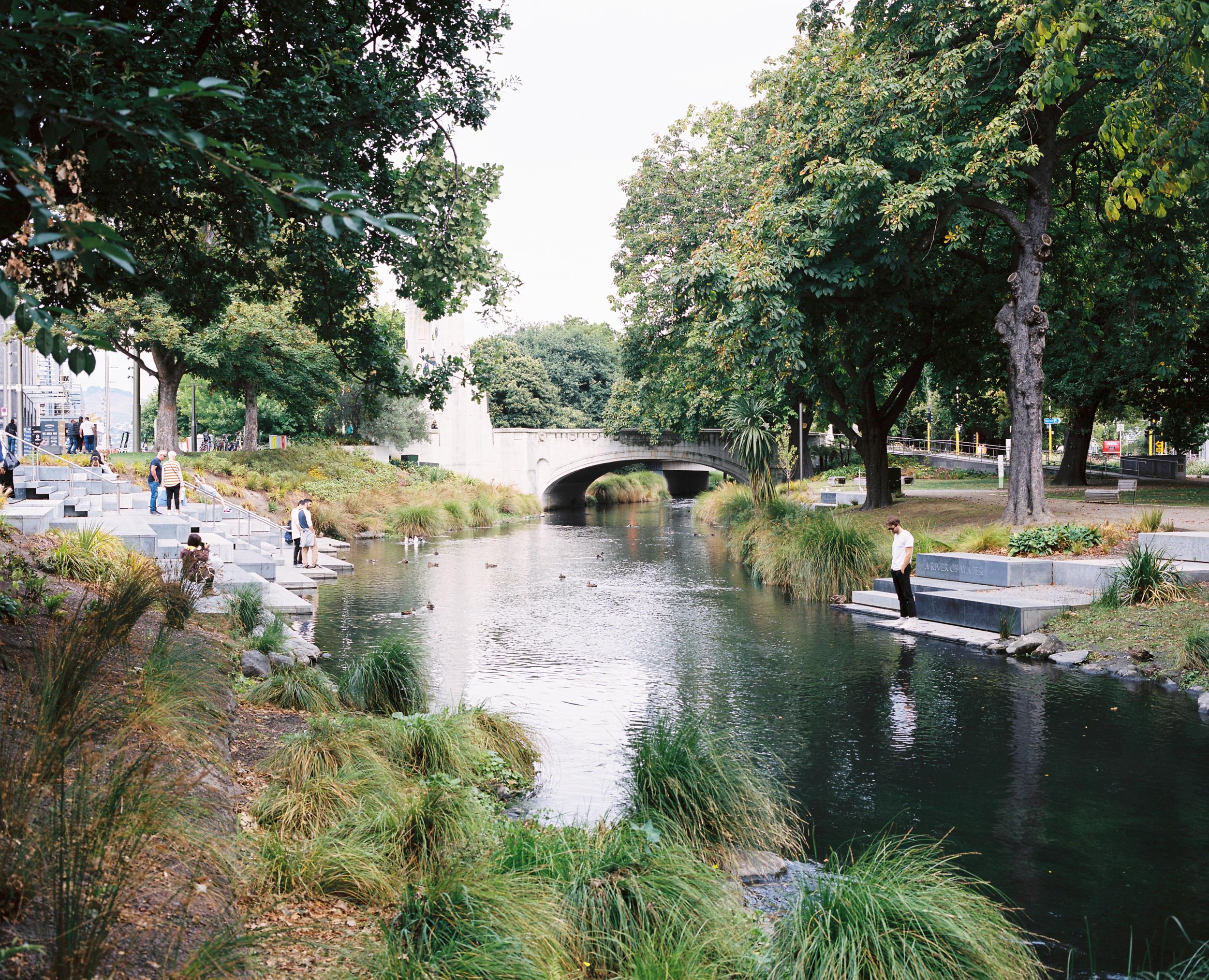 ARP TERRACES  Avon River Interventions Land Lab Christchurch, New Zealand