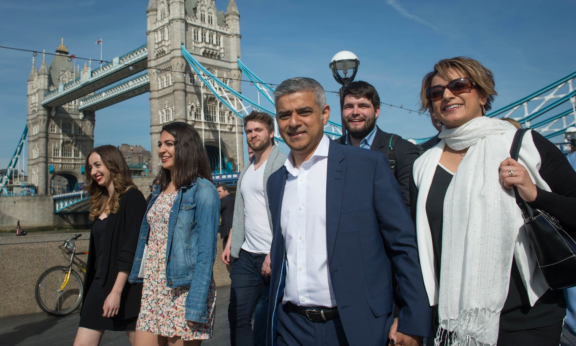 Sadiq Khan, Photo by The Guardian