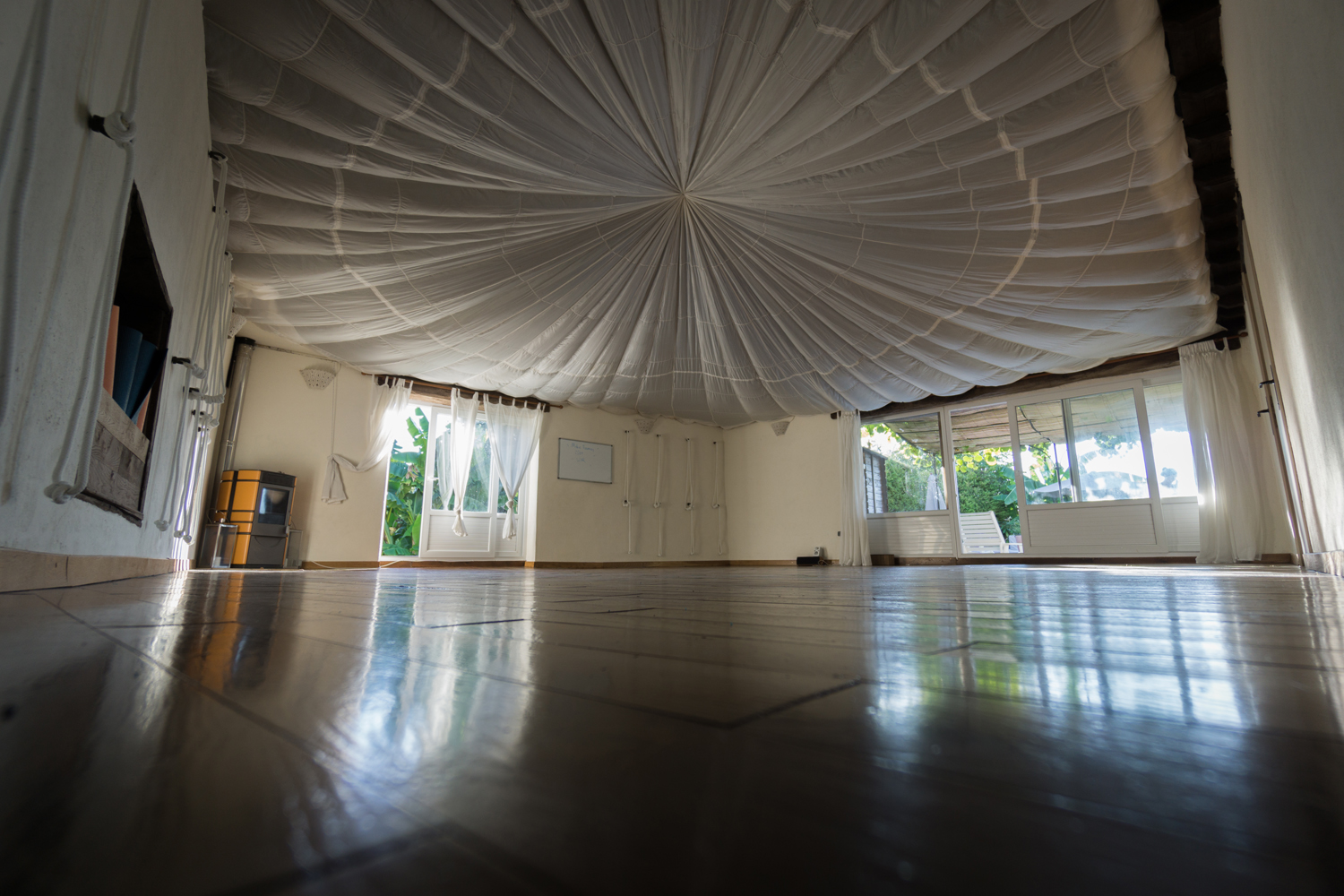 The view from your mat!                                                                                                                          Image ©Tom Gutteridge