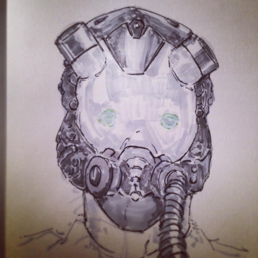 No.25 catch up #inktober #drawing #ink #arthabit #sketchbook #sketch #pilot #jet #fighterpilot  #art