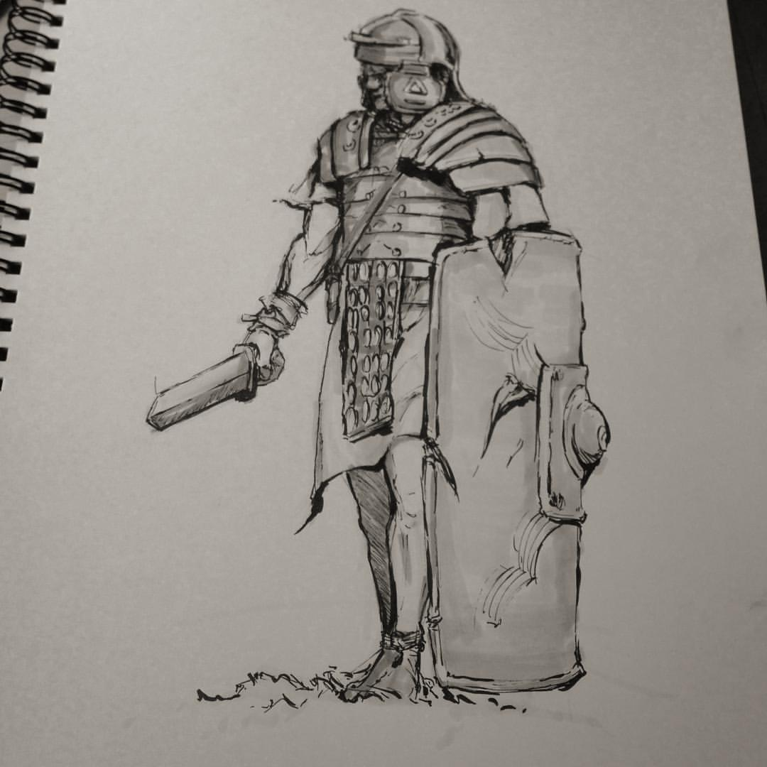 No.7 #inktober #ink #sketching #sketchbook #drawing #art #arthabit #illustration