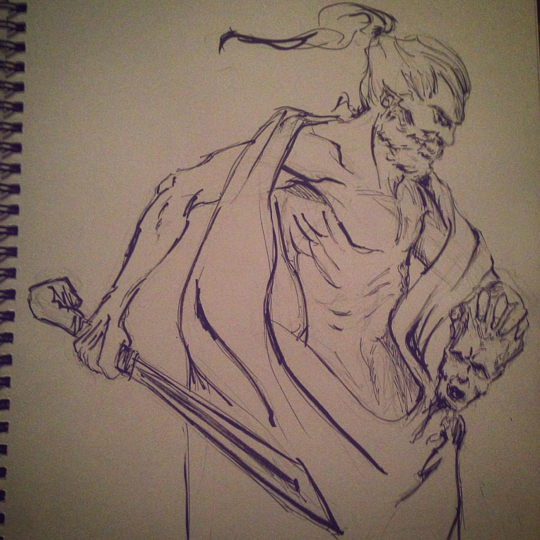 No2. #inktober #ink #arthabit #sketch #drawing #sketchbook