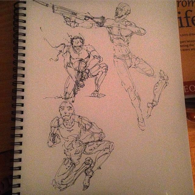#sketch #sketching #sketchbook #art #illustration #drawing #fun