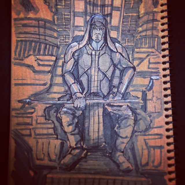 #fanart #art #illustration #drawing #guardiansofthegalaxy #marvel #comics #scifi #space #sketchbook