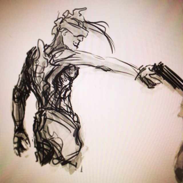 #cyberpunk #fun #scifi #art #illustration #drawing #sketching #sketch