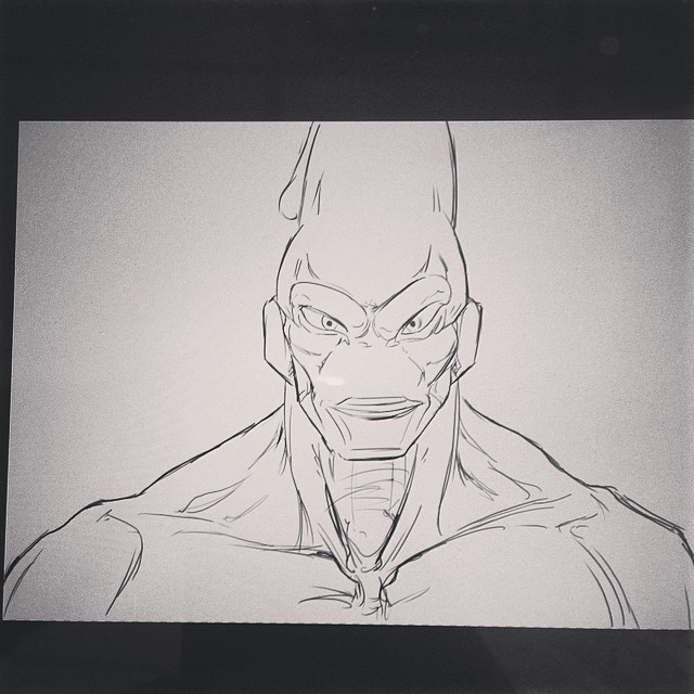 #dbz #dragonballz #majinboo #study #masterstudies #art #illustration #drawing #sketchbook #wip