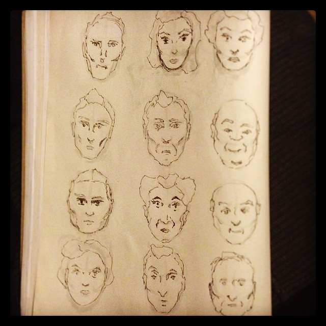 #faces #illustration #sketchbook #sketching #draweveryday #drawing #study