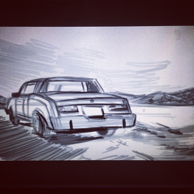 #fargo #car #fx #fanart #study #drawing #art #illustration #wip #sketch #sketchbook #sketching #ohboy #gosh #golly #geez