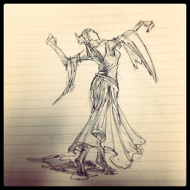 #dancer #art #illustration #drawing #copic #ink