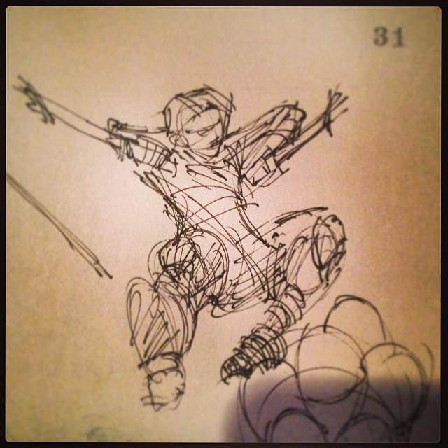 #action #pose #illustration #drawing #art
