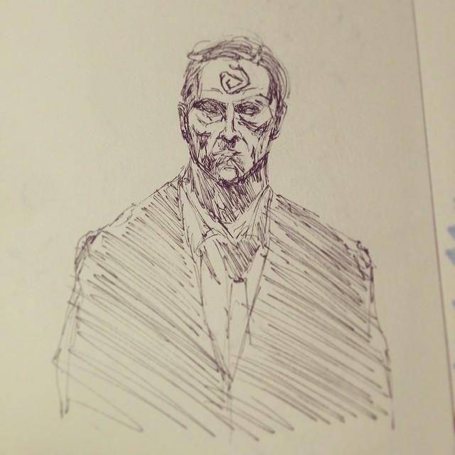 #art #illustration #drawing #sketch  #sketchbook #truedetective