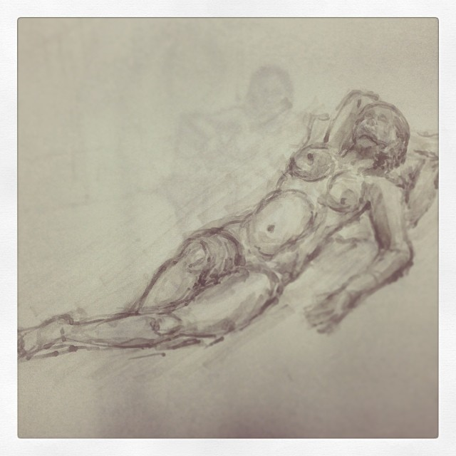 #art #illustration #drawing #copic #lifedrawing