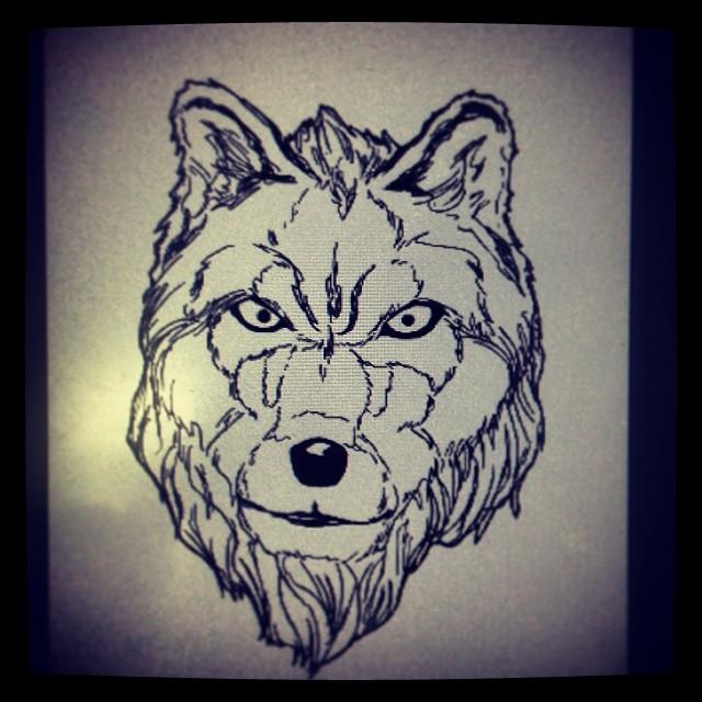 #art #drawing #illustration #wolf
