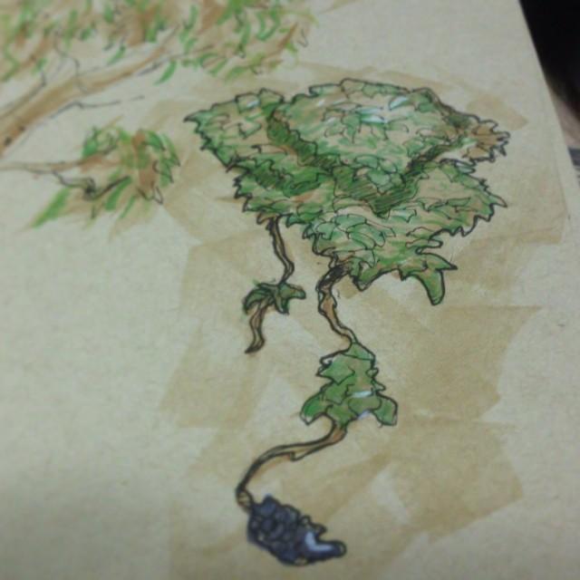 #grape #vine #art #drawing #illustration