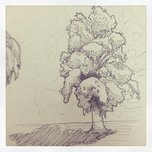 #drawing #art #illustration #tree