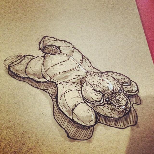 #art #dog #illustration  #drawing