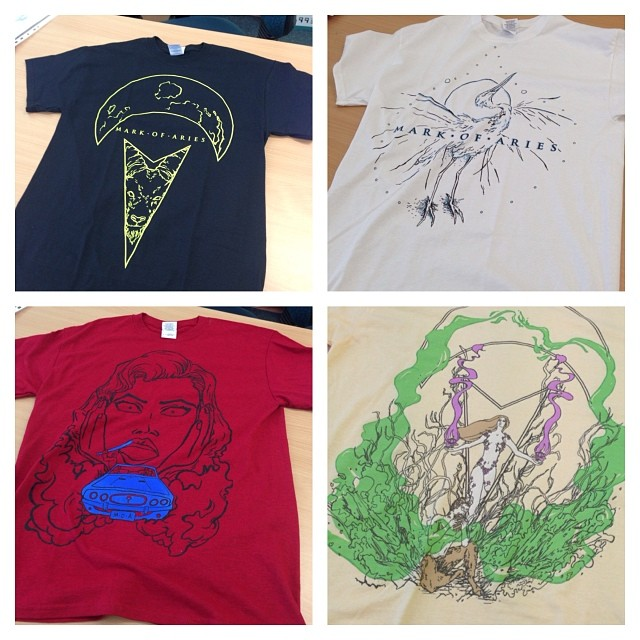 Anyone want to buy some shirts!? Got tshirts printed with my #artwork on them. Website and stuff coming soon.. #art #drawing #design #illustration #clothing #threads #shirts