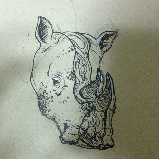 #art #drawing #illustration #cross-section #rhino