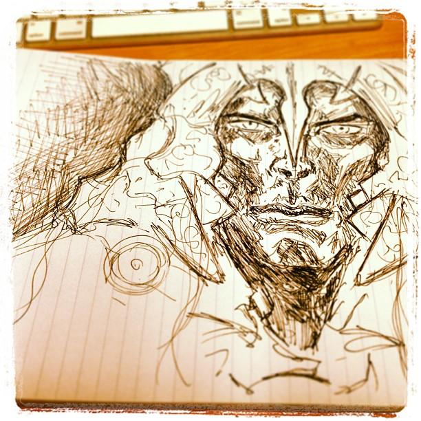 #art #illustration #drawing #ink just a bit of fun