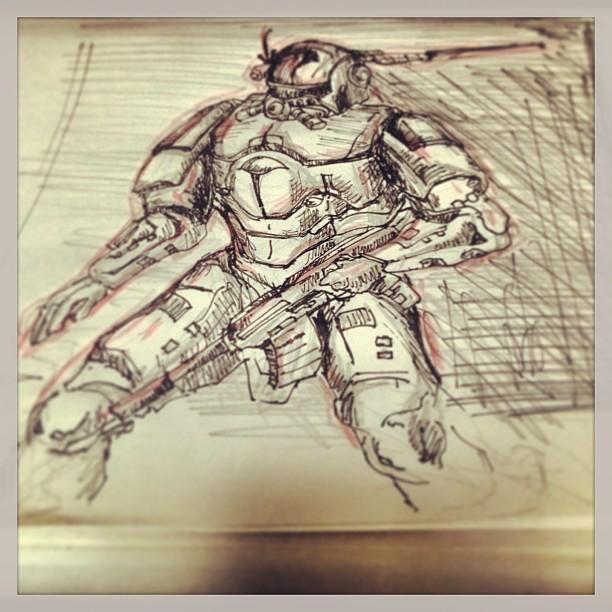 #mech #art #illustration #drawing