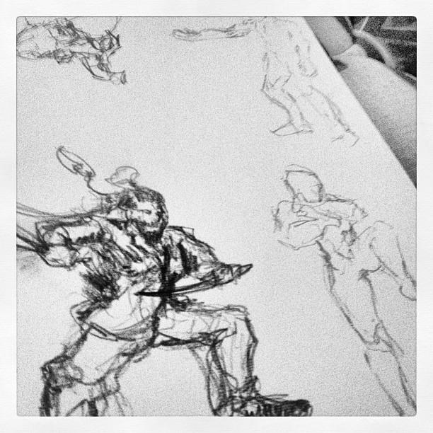 #art #illustration #random poses #speeddrawing