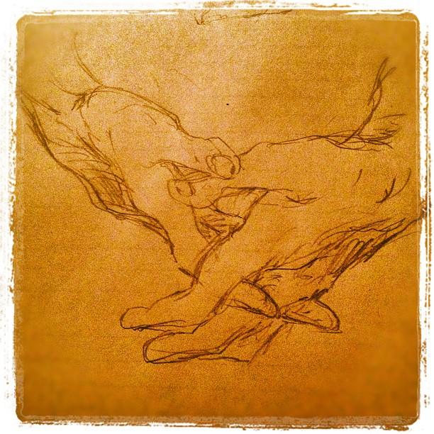 #hands #drawing #art #illustration  (Taken with  Instagram )