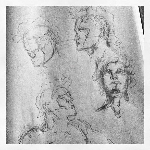 #art #illustration #drawing #hipsterhaircut