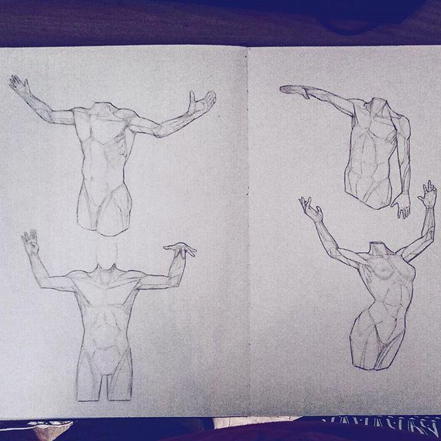 #anatomy #hands #pose #arms #torso #artworks #art #drawing #sketchbook #sketch #study #illustration #instaart #picoftheday #anatomyart #dailysketch #asketchaday #draweveryday #muscles #artbook #artistsoninstagram #2019 #2019goals
