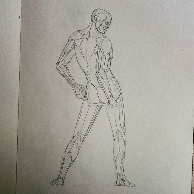 #anatomy #drawing #sketchbook #sketch #study #art #illustration #instaart #picoftheday #anatomyart #anatomystudy #pose #malemodel #dailysketch #asketchaday #draweveryday #artworks #lunchtimesketch #muscles #man #male