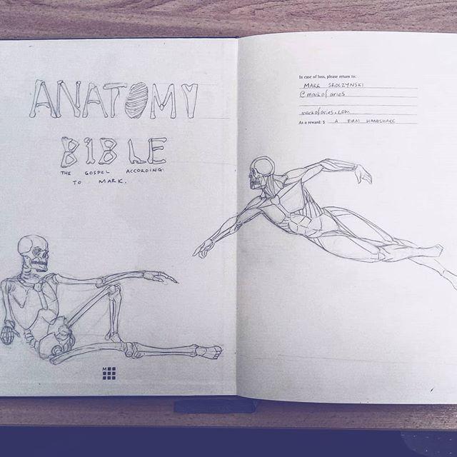 First page. Finishing of the sketch book. #anatomybible #anatomy #bible  #drawing #sketchbook #sketch #study #art #illustration #instaart #picoftheday #anatomyart #anatomystudy #pose #malemodel #dailysketch #asketchaday #draweveryday #skelton #bones #artworks #lunchtimesketch #muscles #man #male #sistinechapel #vatican #michaelangelo #genesis  #creation