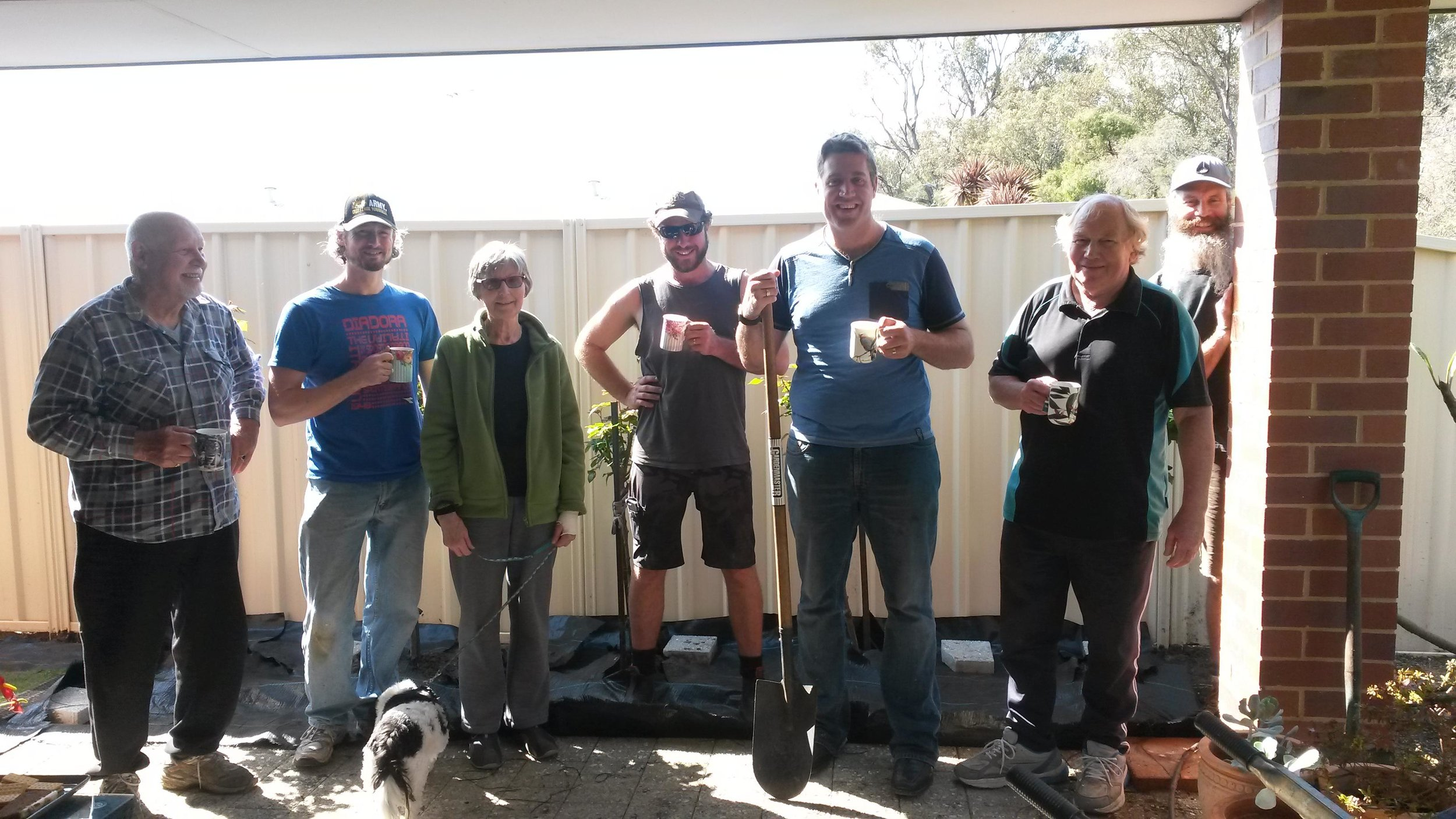 Mighty Men's Ministry - getting jobs done in people's home that are in need in our community.