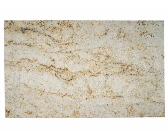 Colonial Gold Granite 75 Cabinets