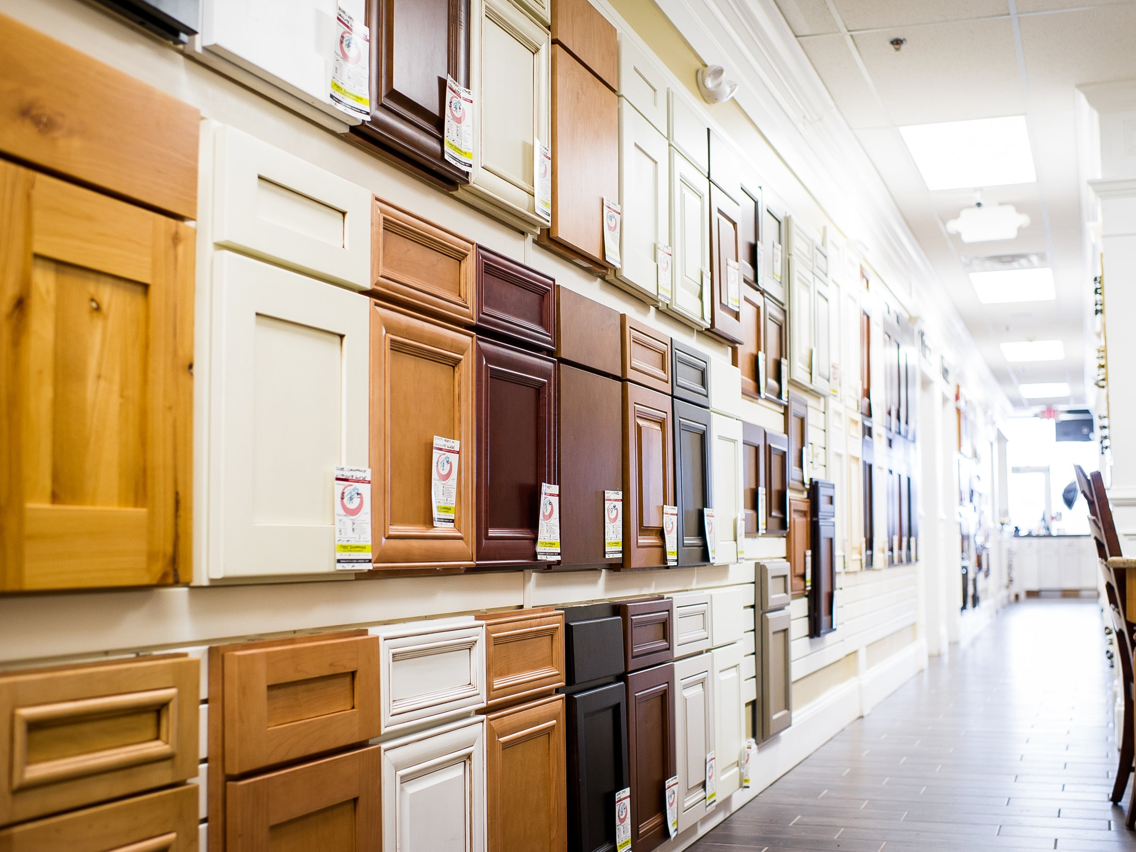 Selection - We offer the largest selection of Kitchen and Bath manufacturers in the area. We have something for everyone!