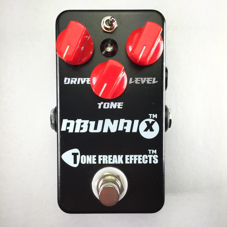Tone Freak Abunai X Overdrive Pedal