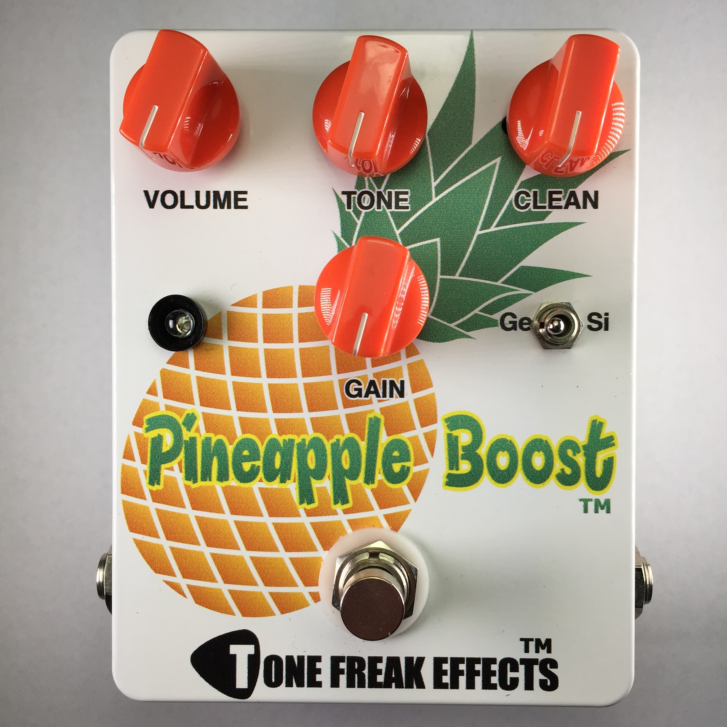 Tone Freak Pineapple Boost Pedal
