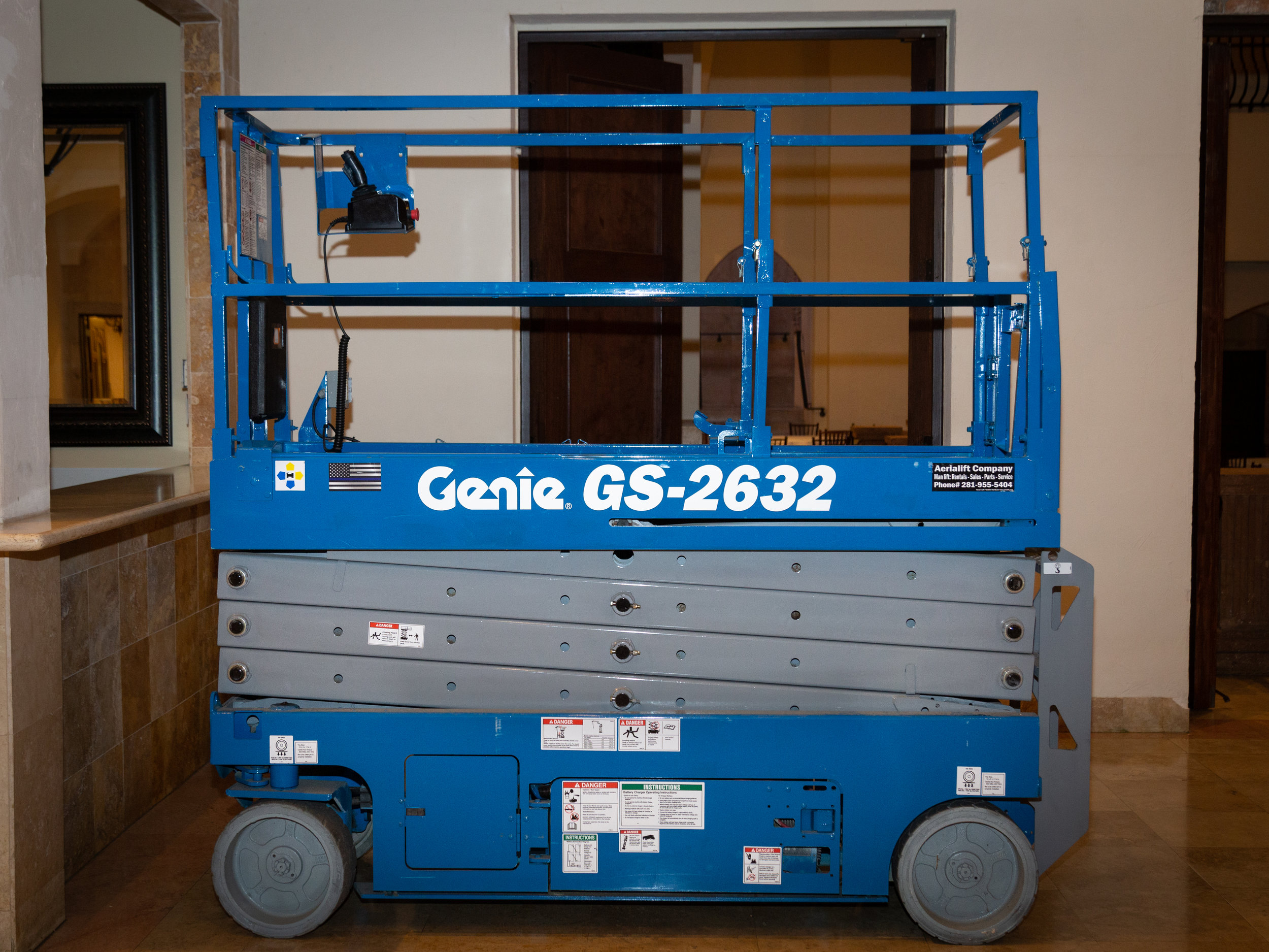 Scissor Lift - Two Person Lift $750