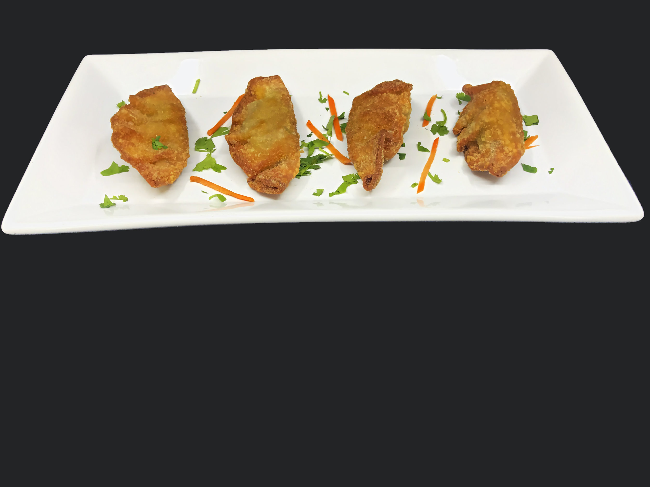Coconut and Curry Chicken Wontons
