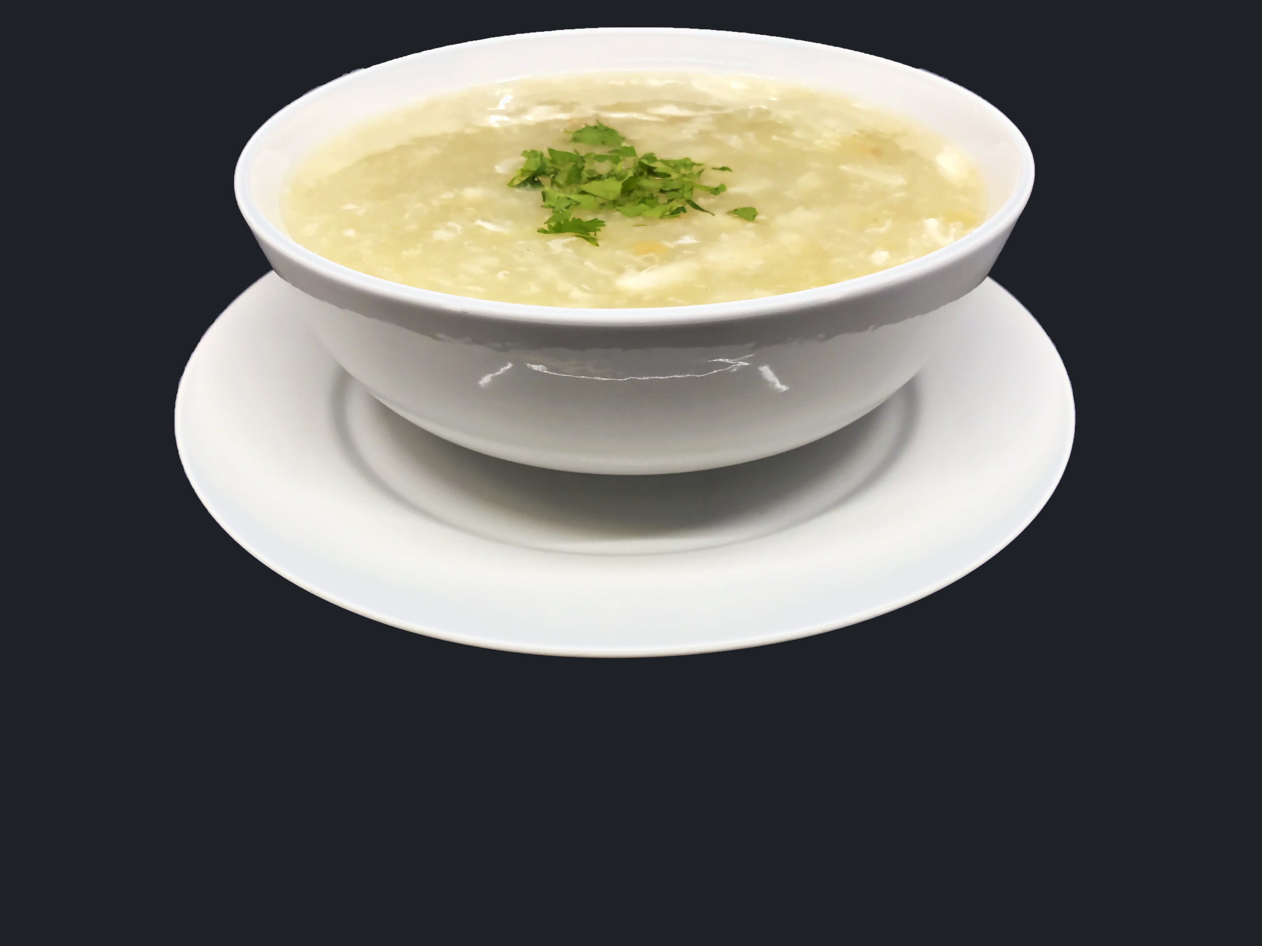 Crab Meat and Asparagus Soup