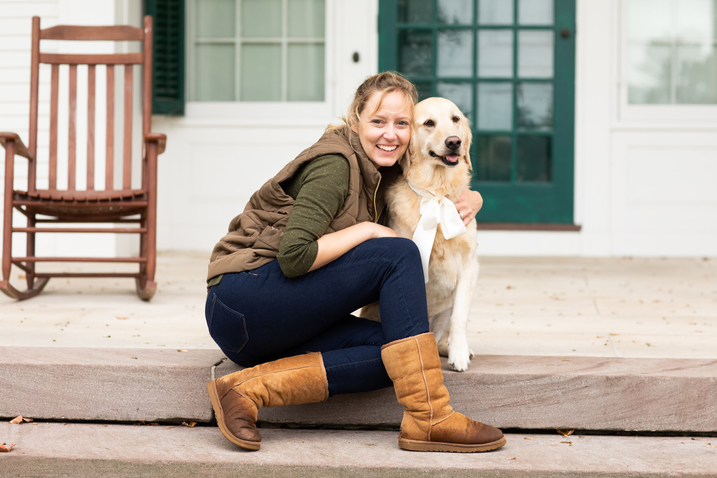 Hi I'm Erica!Your photographer and hopefully your fur baby's photographer too.  -