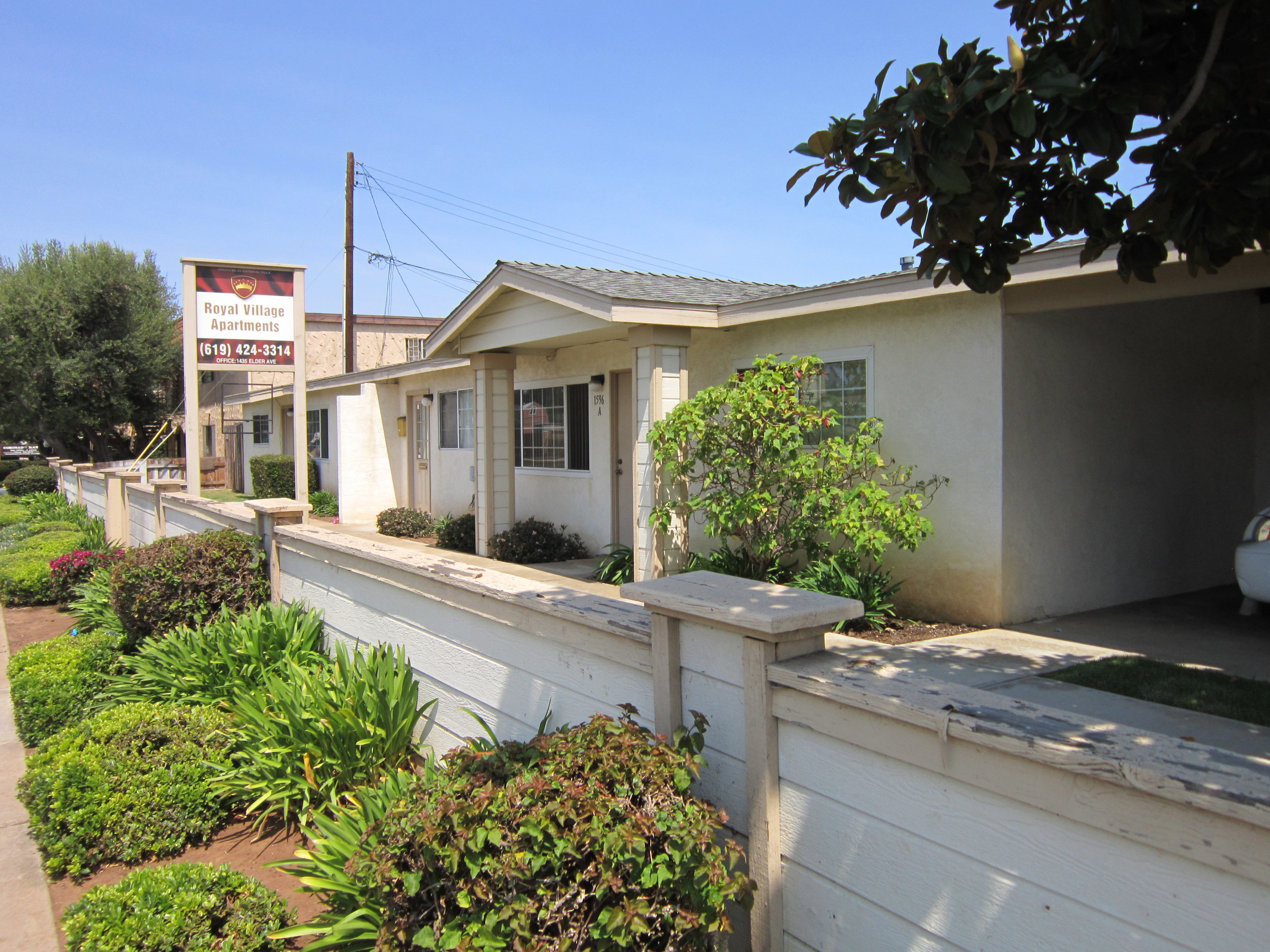 Sold - Royal Village Apartments - Imperial Beach, Ca.