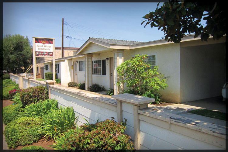 Sold for client - Royal Village Apartments - Imperial Beach, Ca. 24 Units