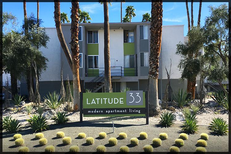 REHABBED - Latitude 33 Palm Springs. 121 Units