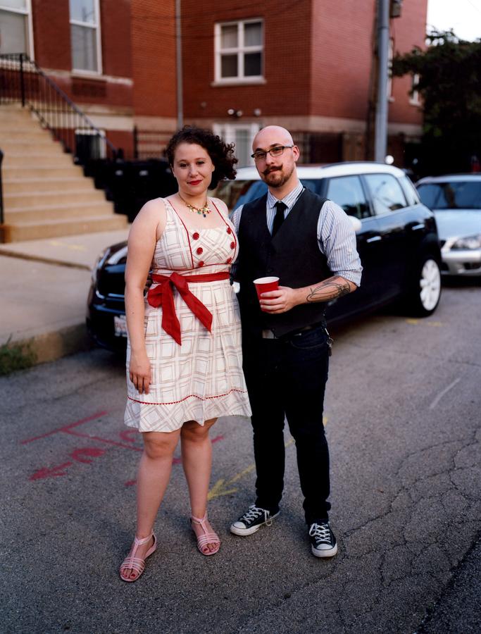 Kristen and Geoffrey, Chicago (2013)