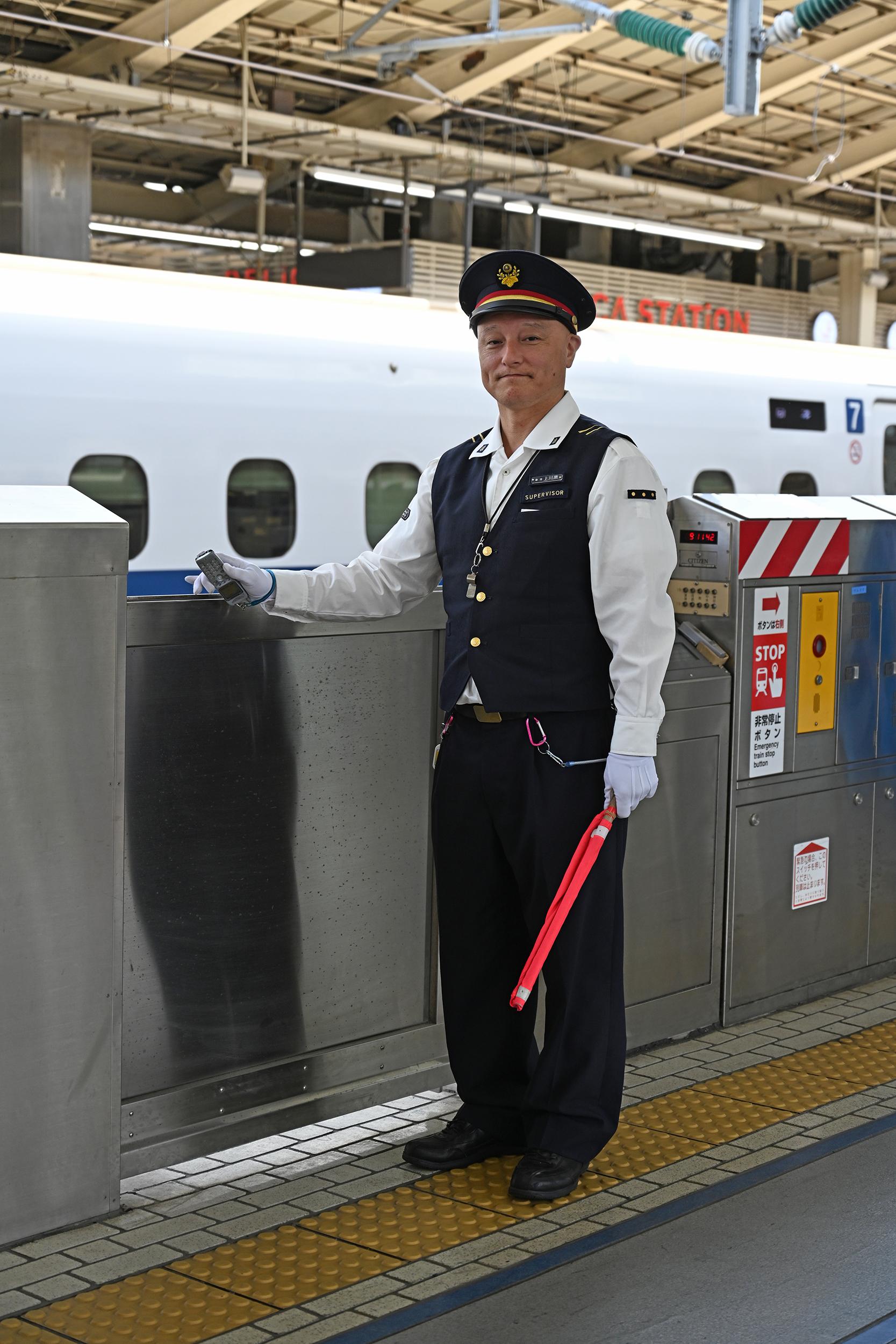 Lead Boarding Coordinator for Shinkansen, Tokyo Station